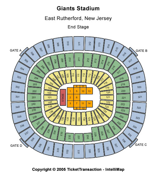 Hot 97 Summer Jam Tickets Giants Stadium - See it Before it's sold out!